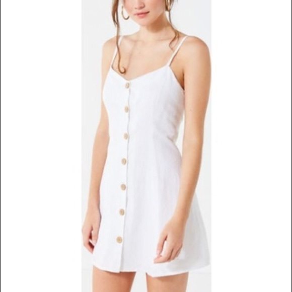Urban Outfitters Dresses & Skirts - Urban Outfitters Button-Down Linen Dress
